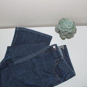 J.Jill bellbottom Jeans Size 10